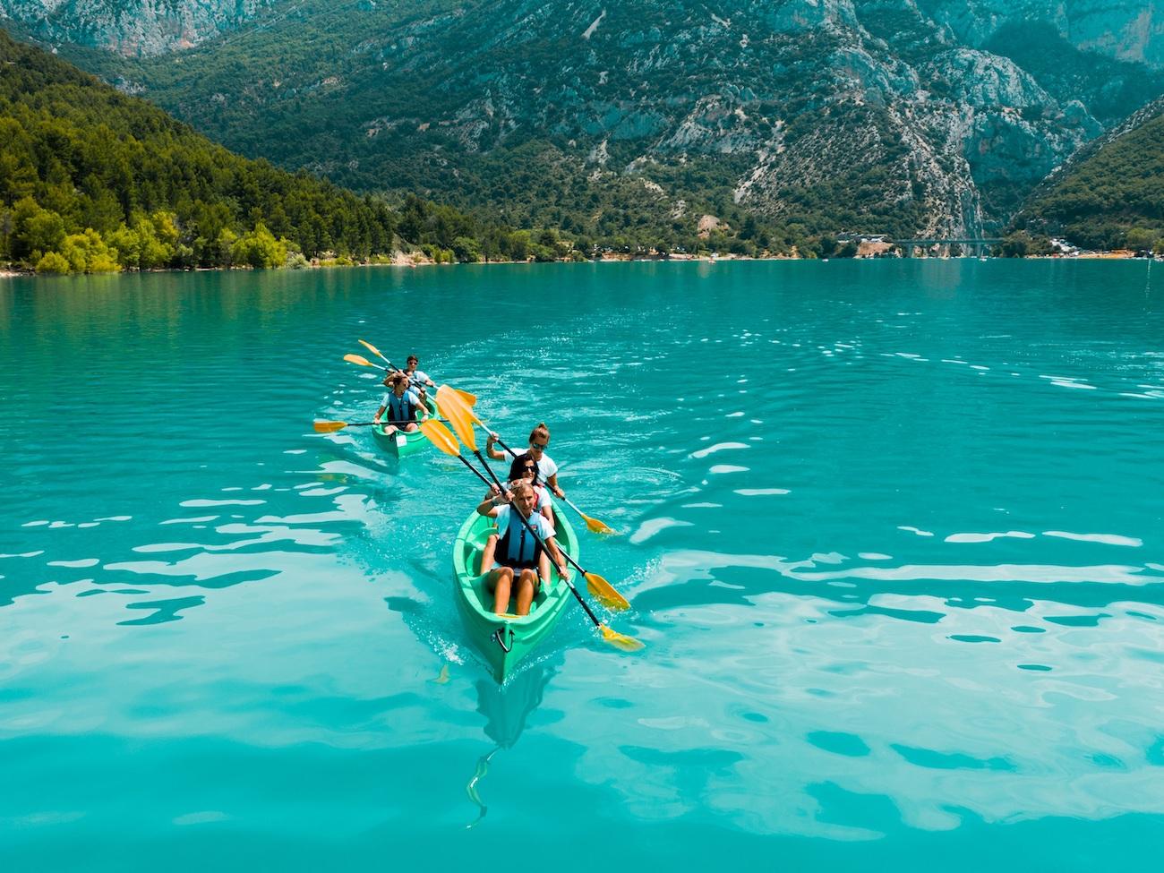 CAMPING CADENIERES_canoe-lac-sainte-croix
